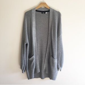 Urban Outfitters BDG Gray Knit Cardigan